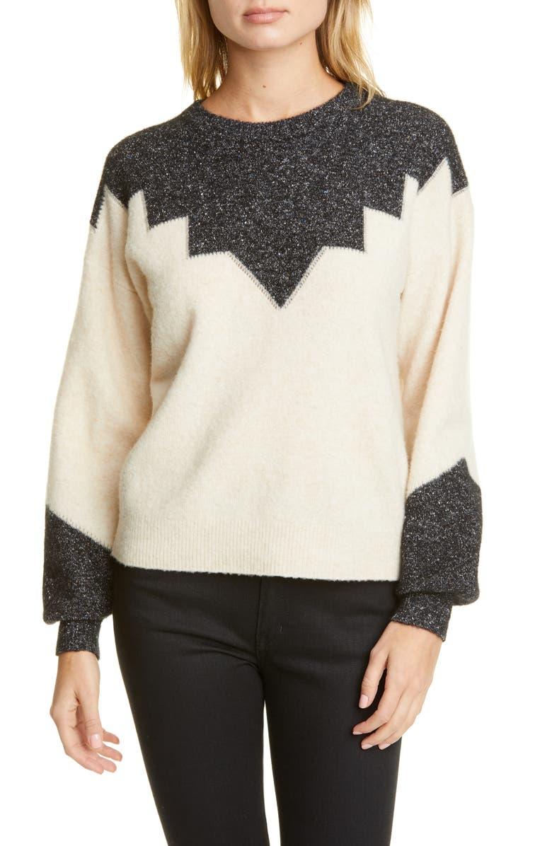 JOIE Zinca Wool Blend Sweater, Main, color, 100