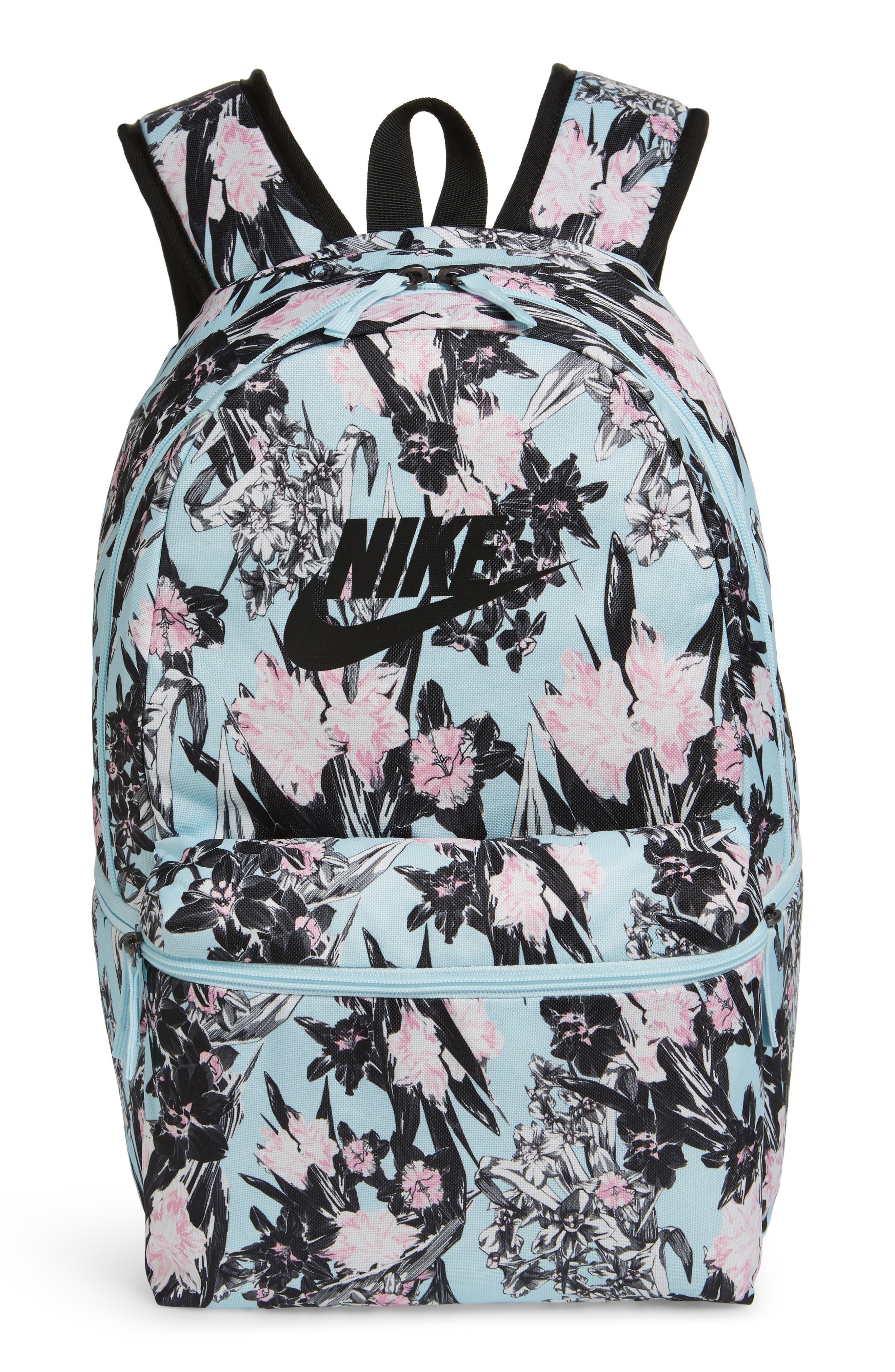 Heritage Backpack, Main, color, TOPAZ MIST/ BLACK