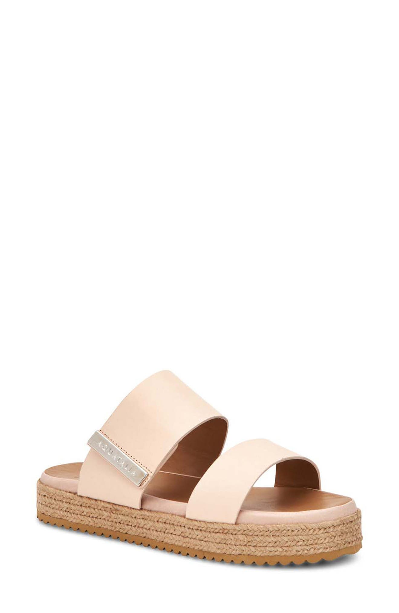Mae Water Resistant Espadrille Slide Sandal