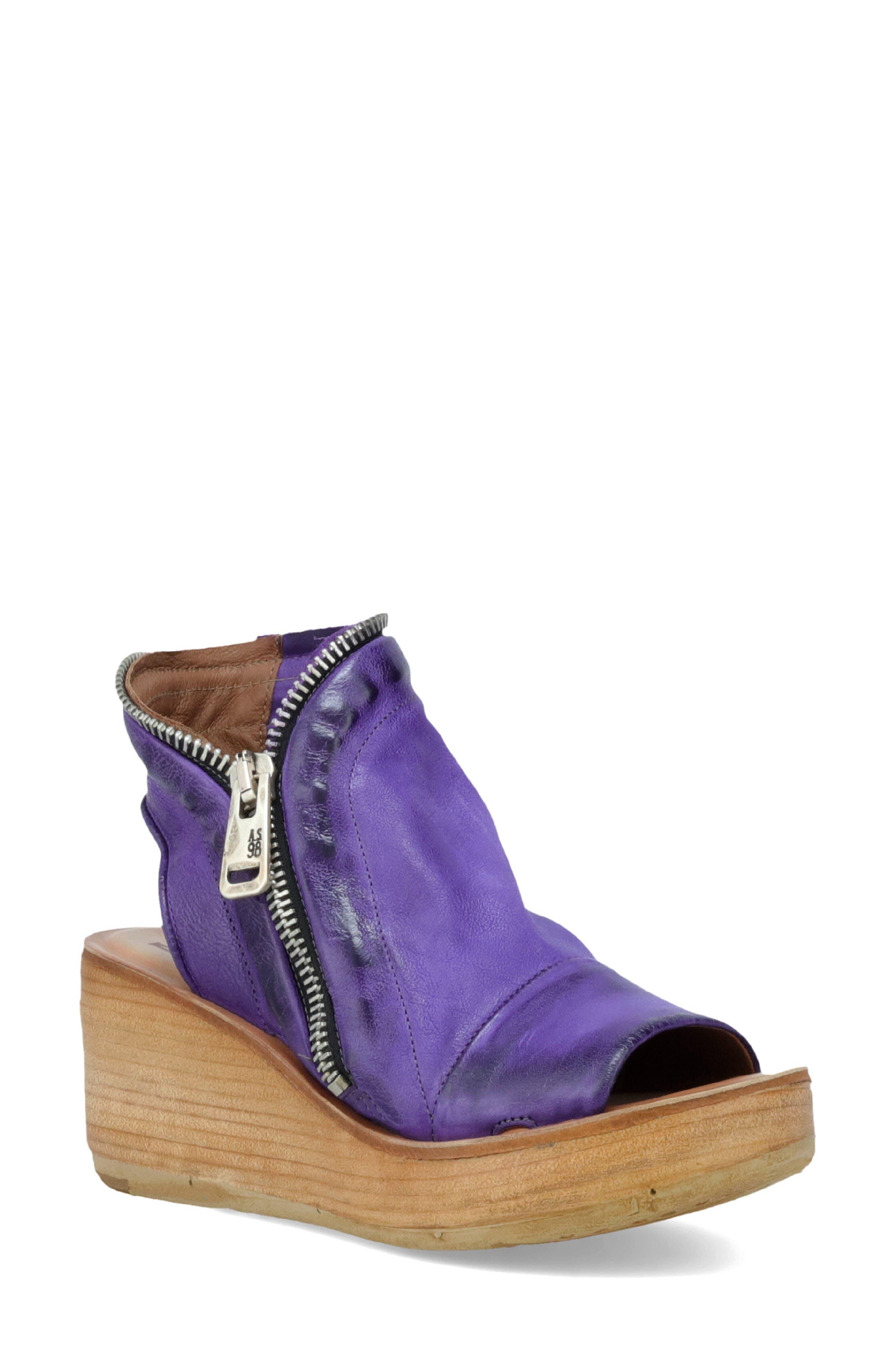 Women's A.s.98 Naylor Platform Wedge Sandal