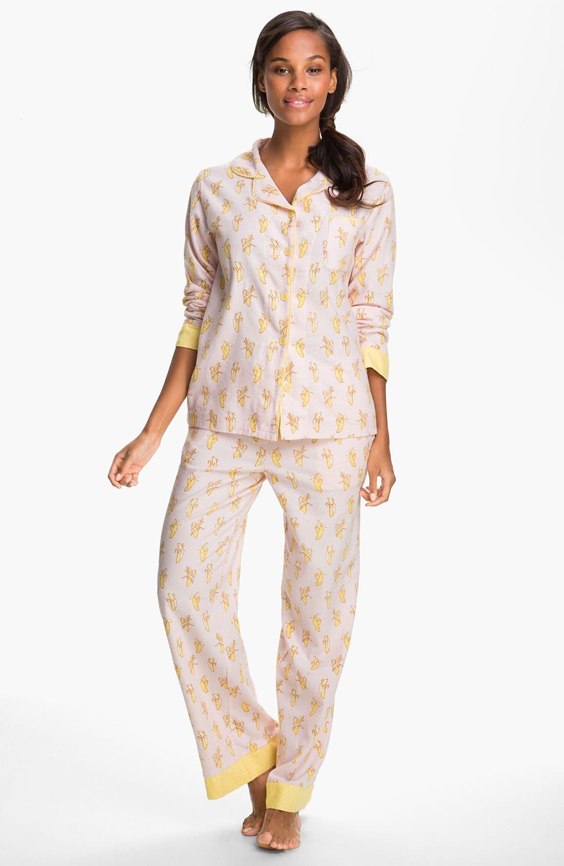 ,                             Flannel Pajamas,                             Main thumbnail 77, color,                             663