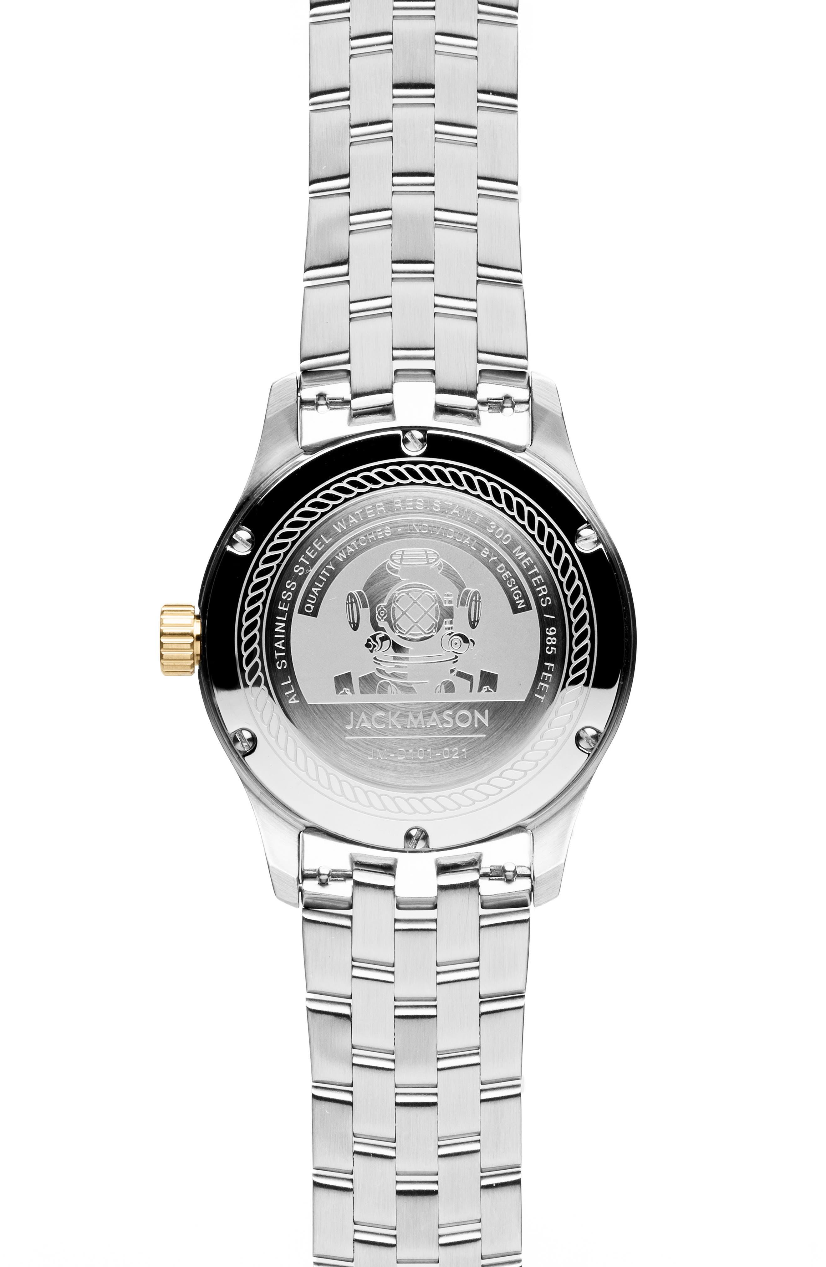 ,                             Diver Bracelet Watch, 42mm,                             Alternate thumbnail 2, color,                             BLUE