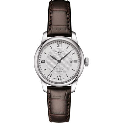 Tissot Le Locle Leather Strap Watch, 2m