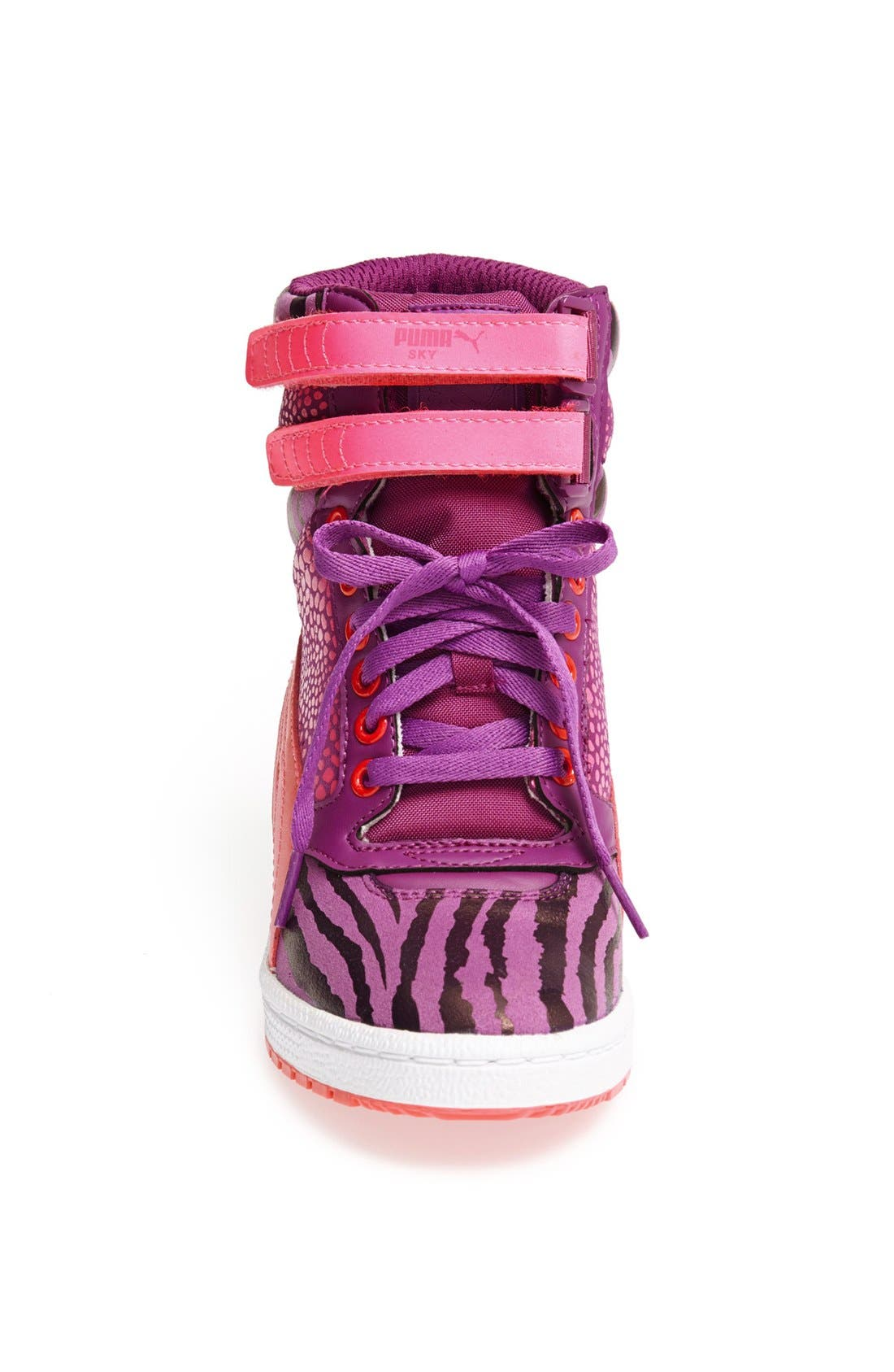 ,                             'Sky Wedge Reptile' Sneaker,                             Alternate thumbnail 10, color,                             540