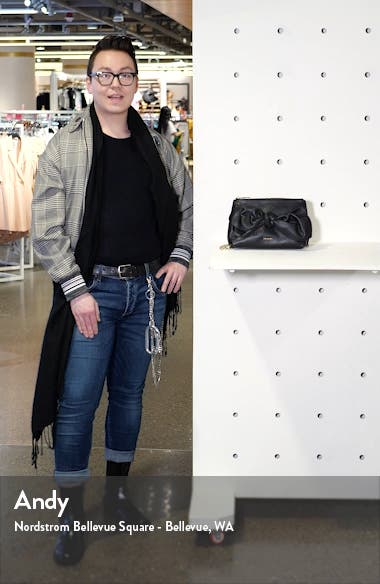 Darnna Soft Knot Leather Clutch, sales video thumbnail