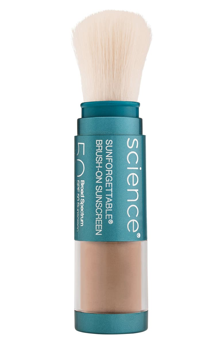 COLORESCIENCE<SUP>®</SUP> Sunforgettable<sup>®</sup> Brush-On Sunscreen SPF 50, Main, color, DEEP