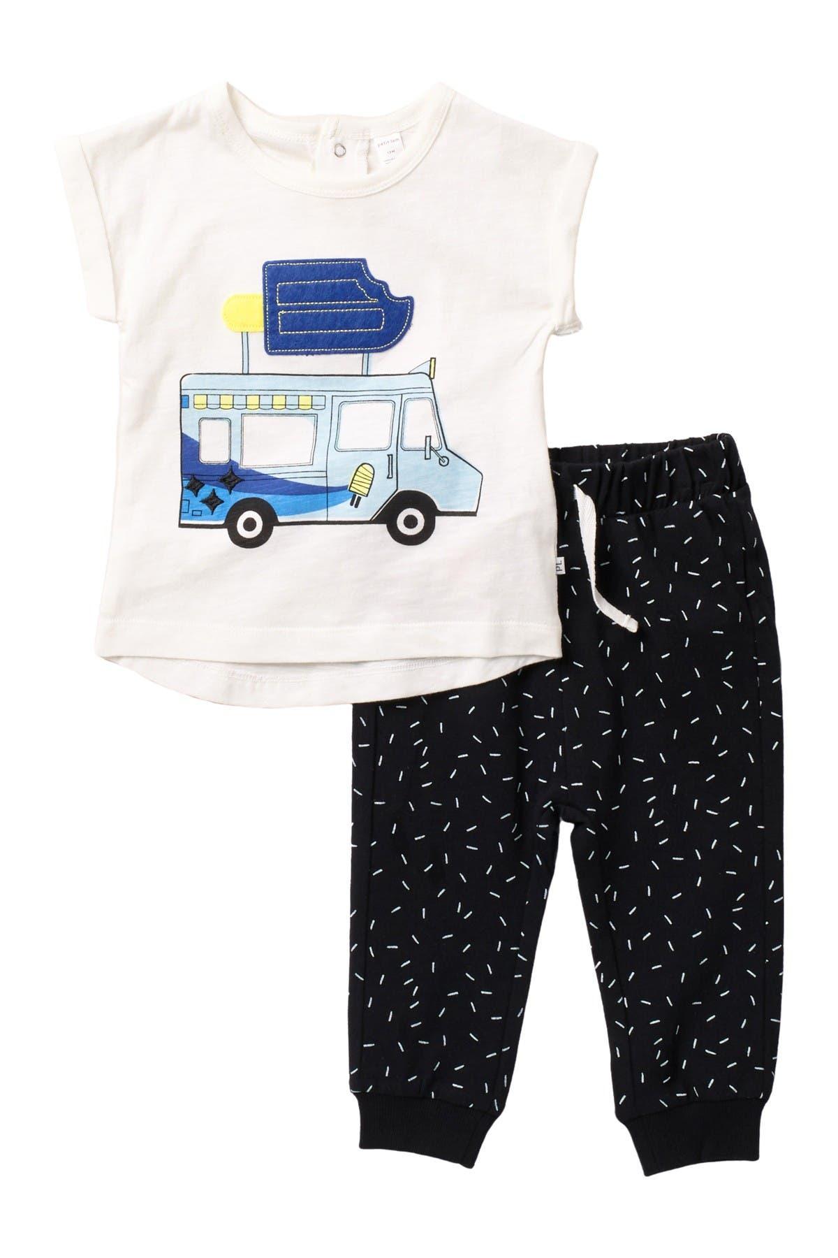 Image of Petit Lem Cool Treats Shirt & Joggers Set