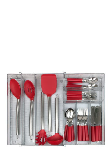 Image of Sorbus Expandable Flatware Drawer Organizer