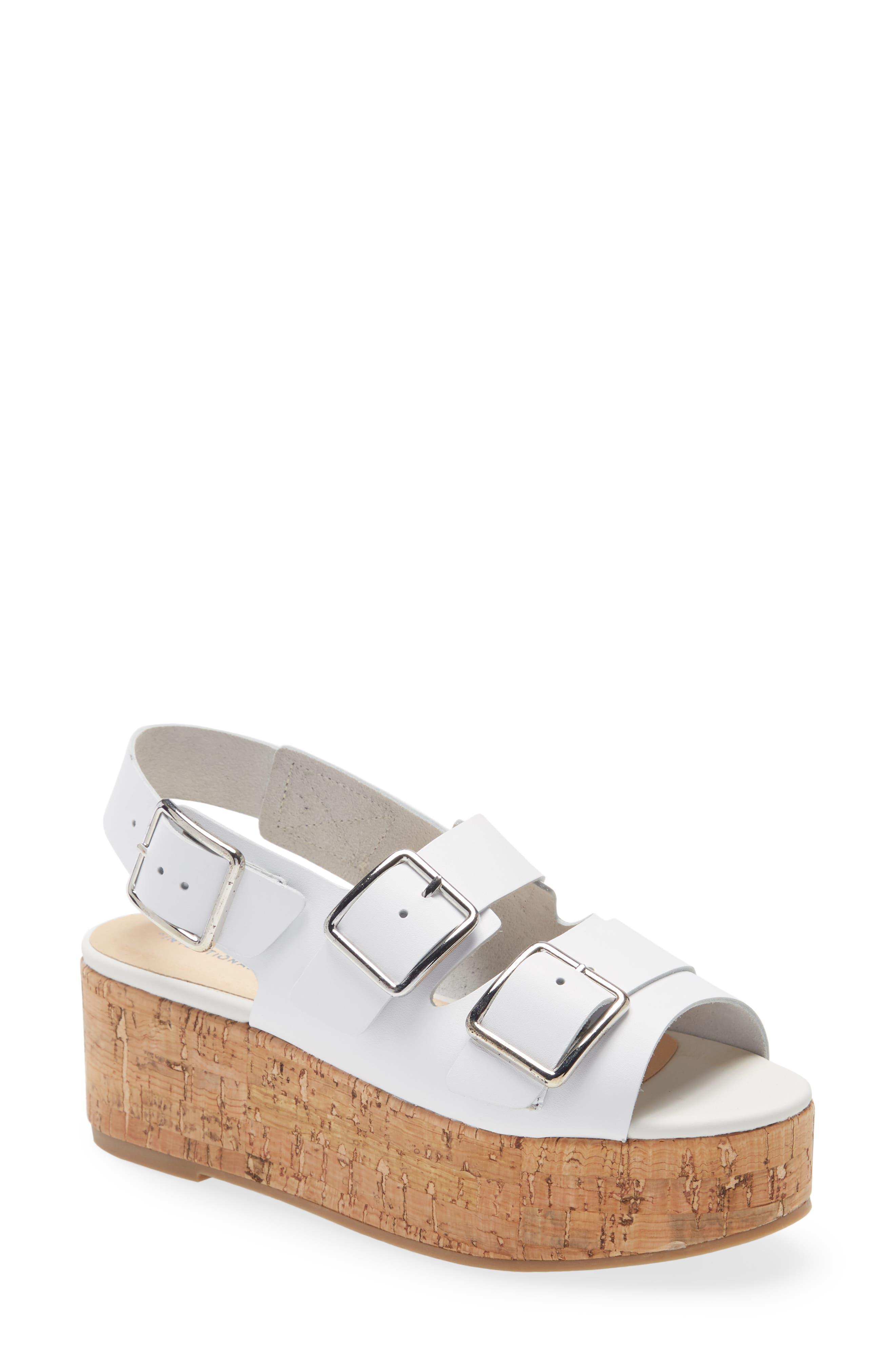 Uptown Platform Slingback Sandal