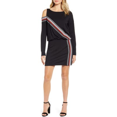Bailey 44 Bradbury Long Sleeve Sweatshirt Minidress, Black