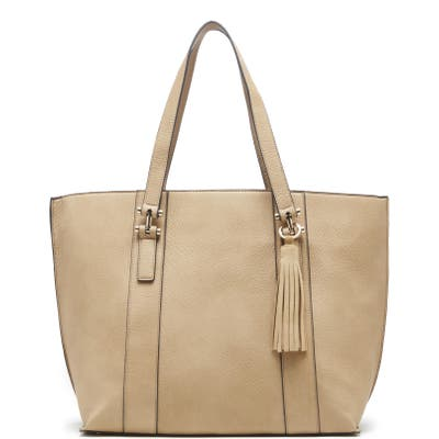 Sole Society March Faux Leather Tote -