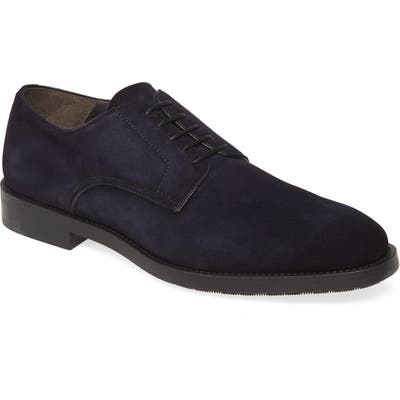 To Boot New York Atkins Plain Toe Derby- Blue