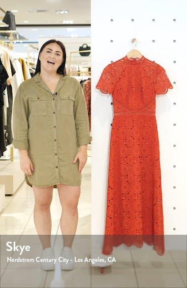 Lace Midi Cocktail Dress, sales video thumbnail