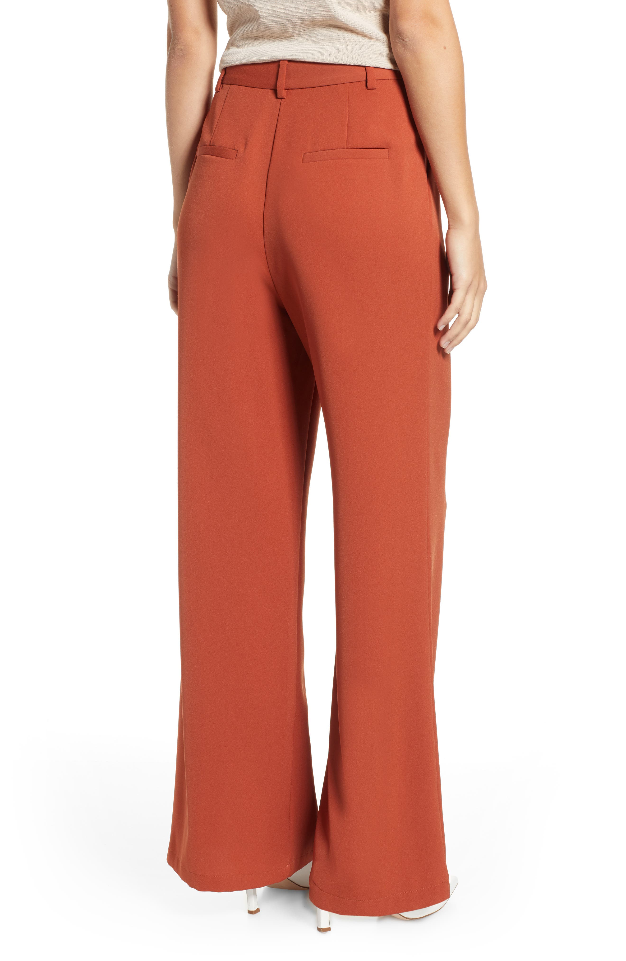,                             High Waist Flare Pants,                             Alternate thumbnail 14, color,                             210