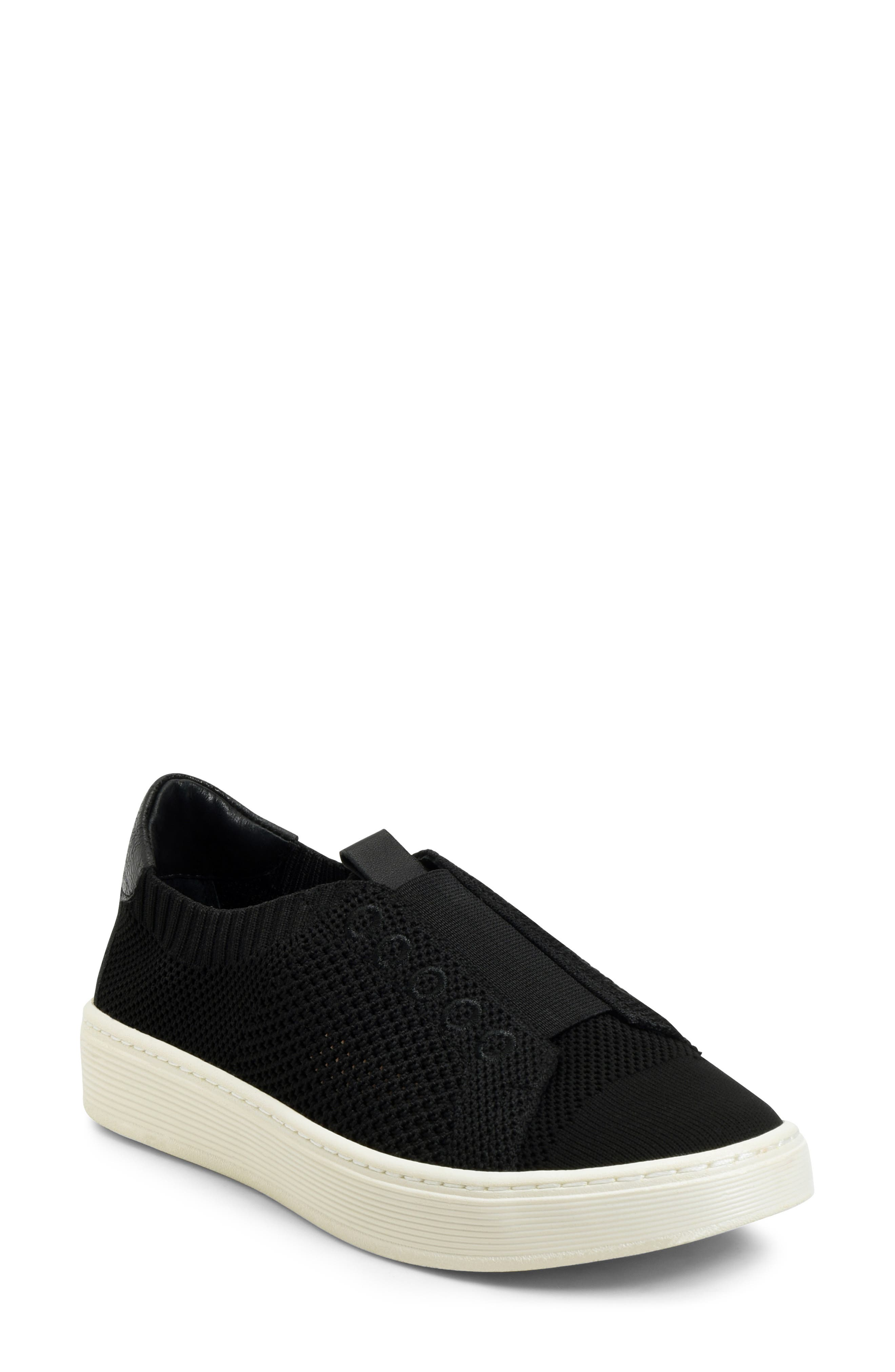 Sofft Safia Knit Slip-On Sneaker- Black