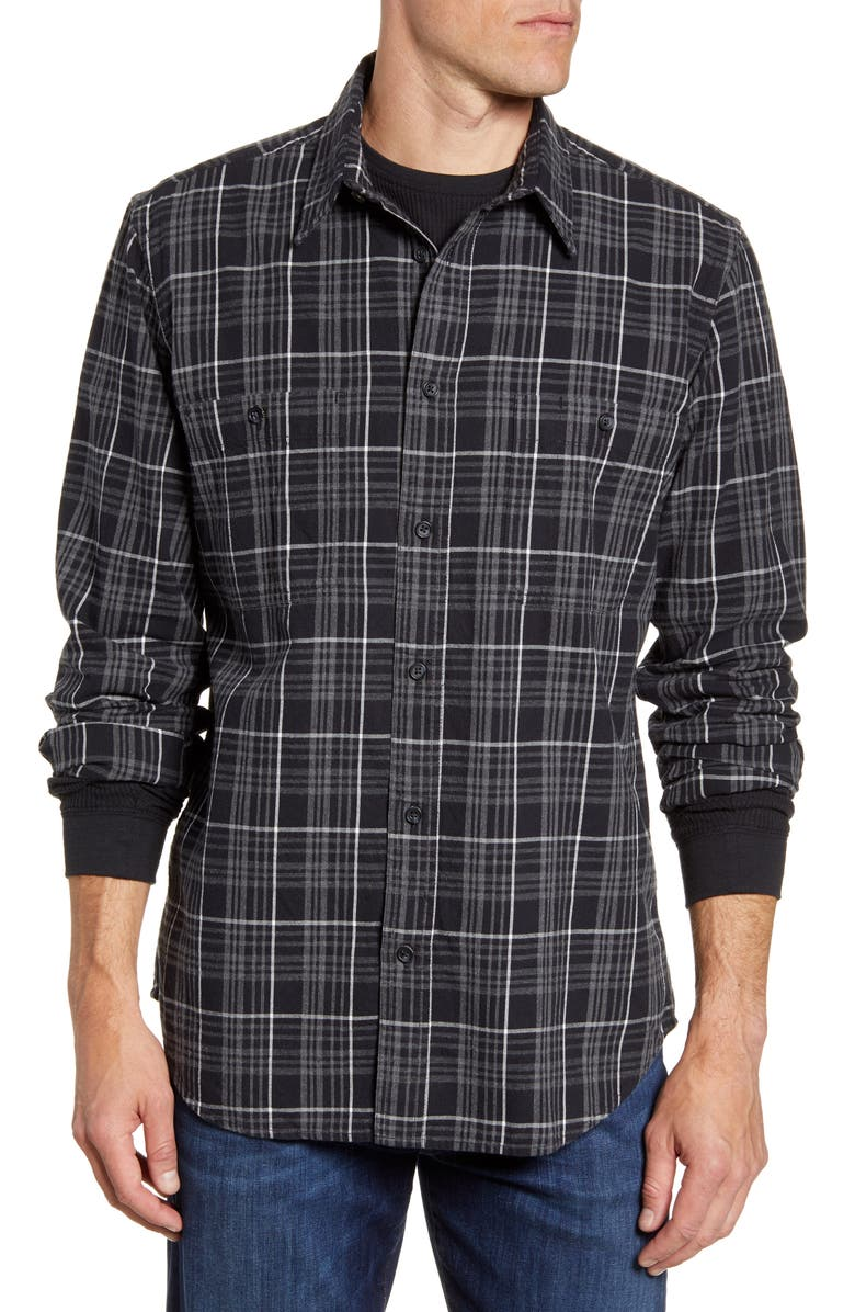 FILSON Wildwood Regular Fit Plaid Button-Up Shirt, Main, color, 020
