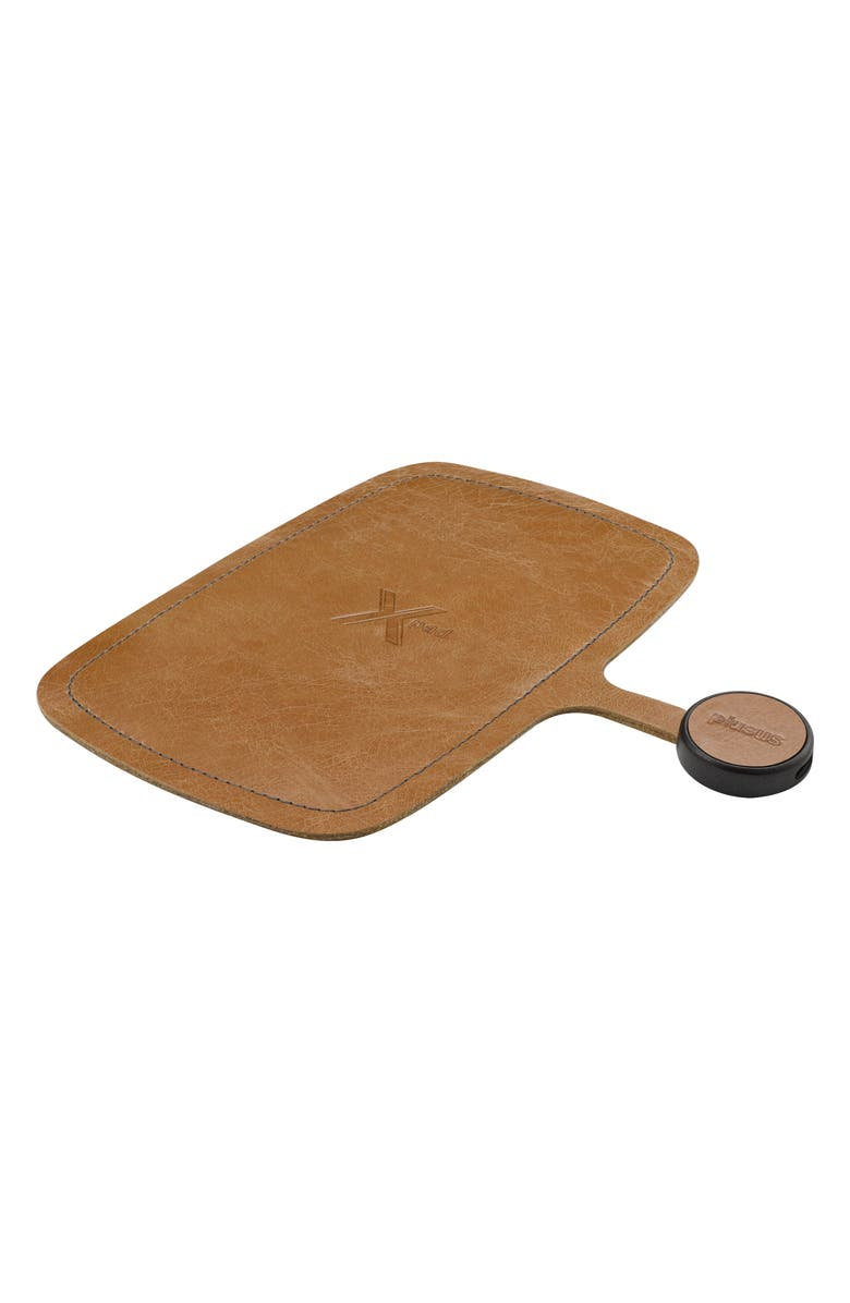 PLUSUS XPad Wireless Charging Pad, Main, color, TUSCAN LEATHER