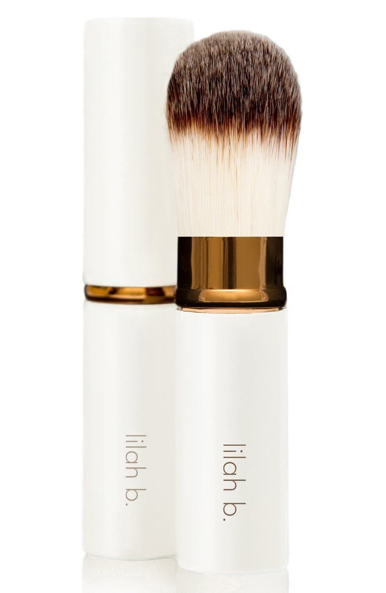 LILAH B. Retractable Foundation Brush, Main, color, NO COLOR
