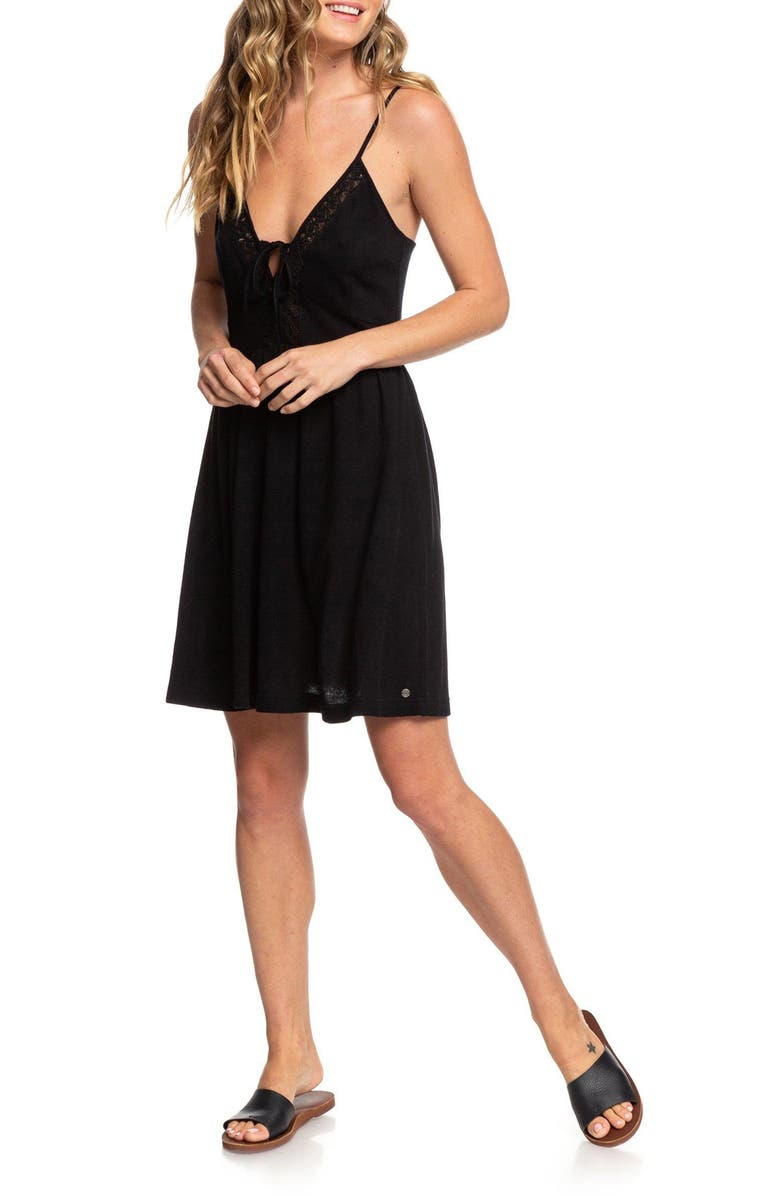 ROXY Little Something Love Minidress, Main, color, 002