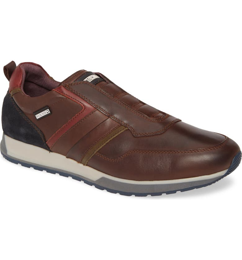 PIKOLINOS Cambil Sneaker, Main, color, OLMO BROWN LEATHER