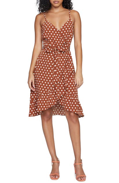 Sanctuary Mini dresses BIANCA POLKA DOT FAUX WRAP MINIDRESS
