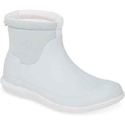Hunter Original Mesh Short Boot, Grey