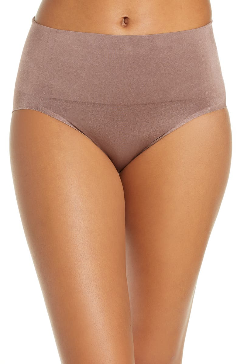 WACOAL Smooth Series<sup>™</sup> Shaping High Cut Briefs, Main, color, DEEP TAUPE