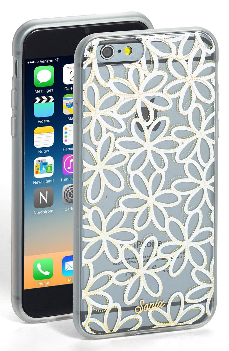 SONIX 'Sweet Pea' iPhone 6 & 6s Case, Main, color, 100