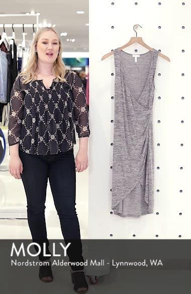 Mélange Wrap Dress, sales video thumbnail