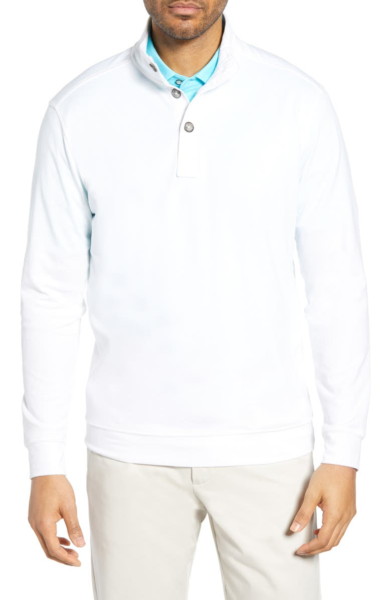 BOBBY JONES Leisure Luxe Pullover, Main, color, 100