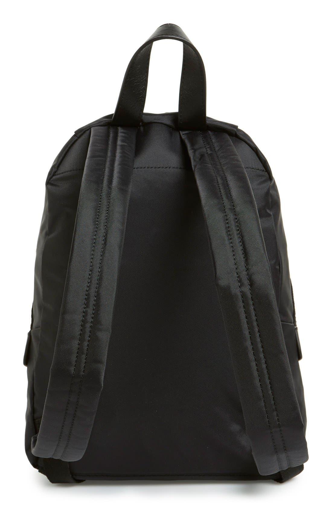 ,                             'Mini Biker' Nylon Backpack,                             Alternate thumbnail 3, color,                             001