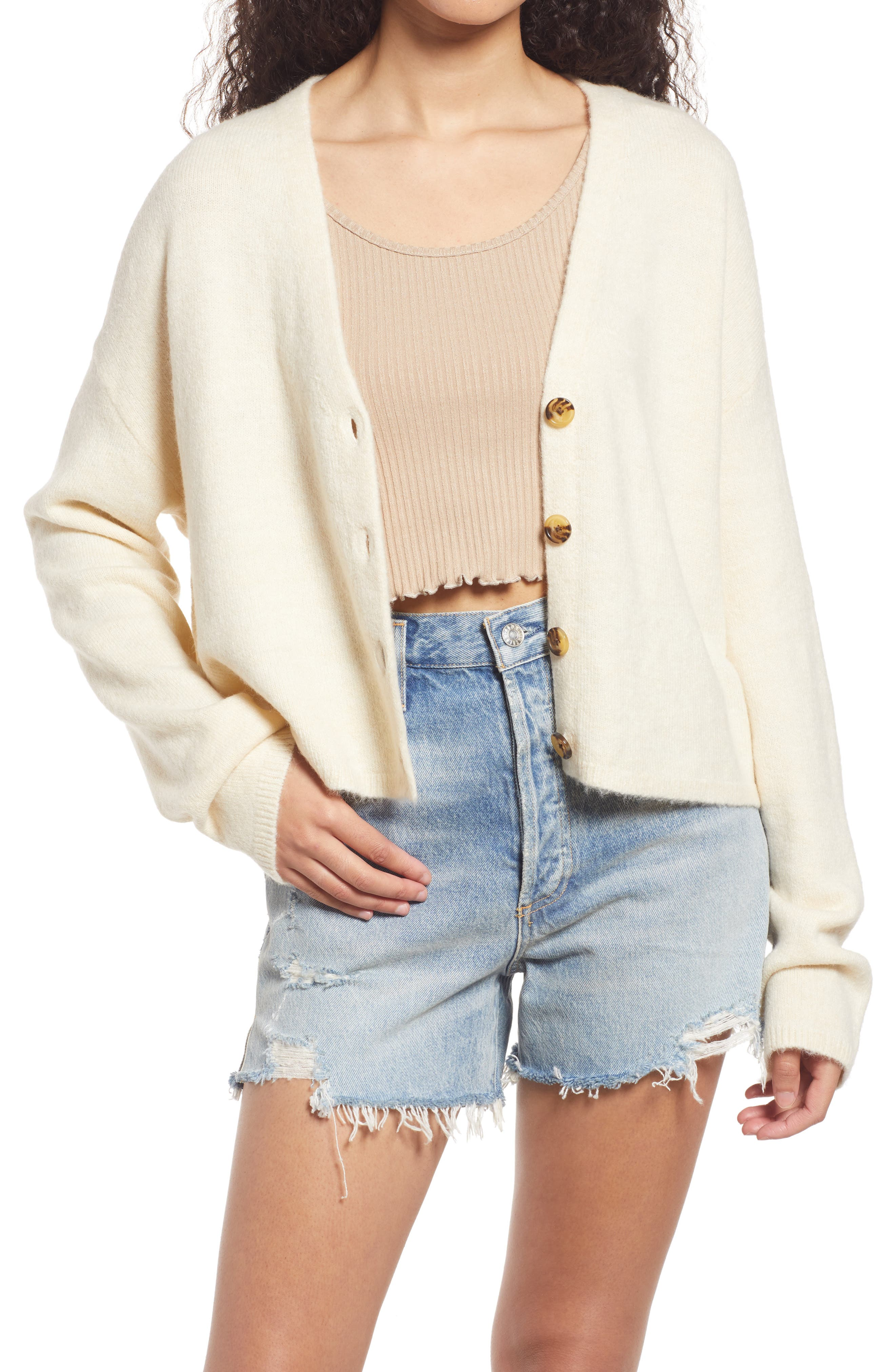 Short N Sweet Button Up Cardigan Sweater