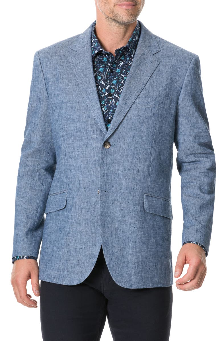 RODD & GUNN Napier South Regular Fit Sport Coat, Main, color, STONEWASH