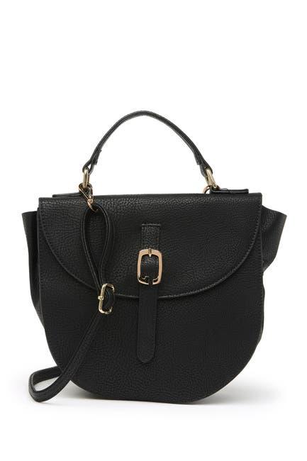 Image of Pink Haley Keilani Crossbody Saddle Bag