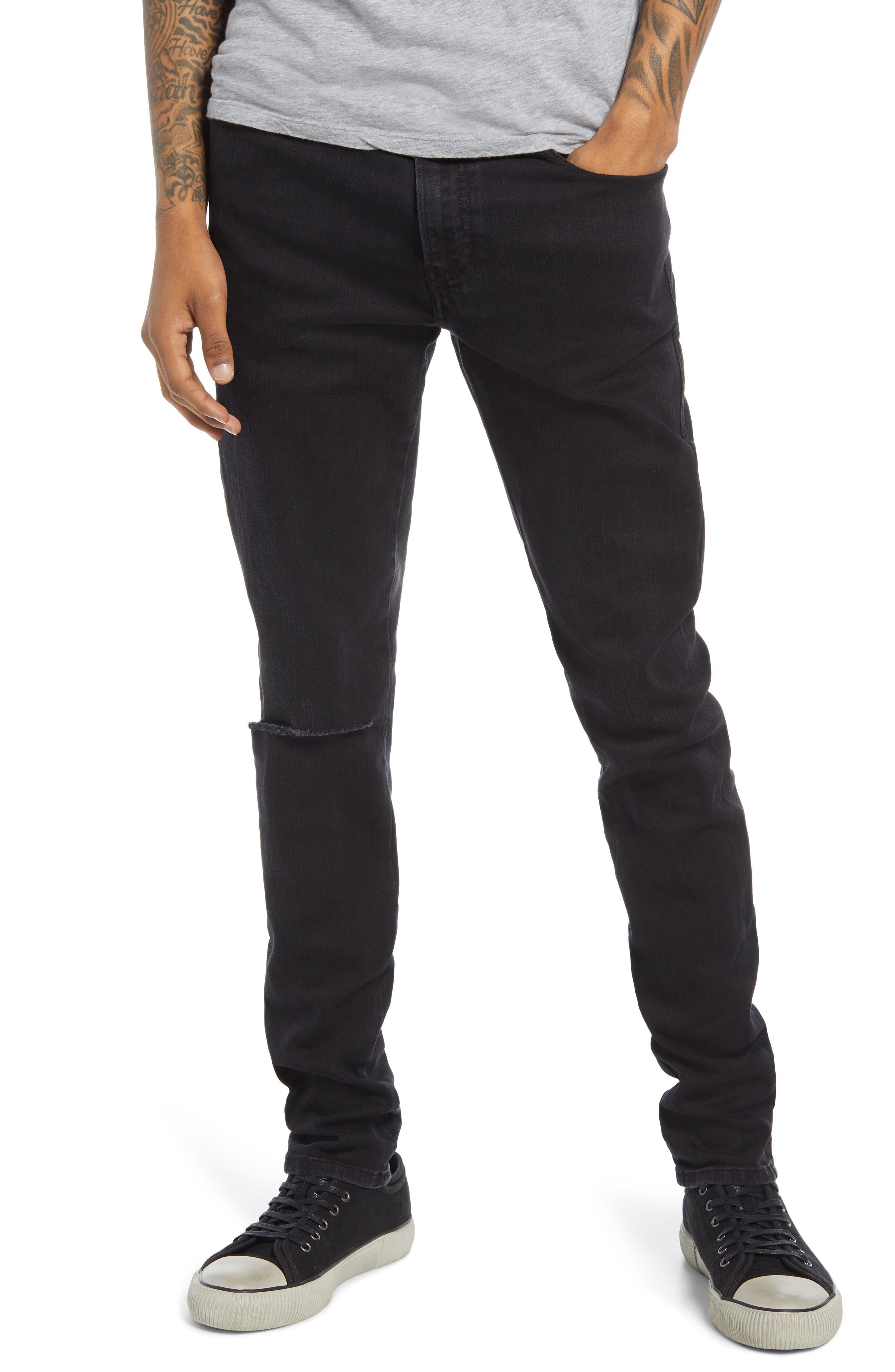 Men's Diesel D-Amny Ripped Skinny Jeans