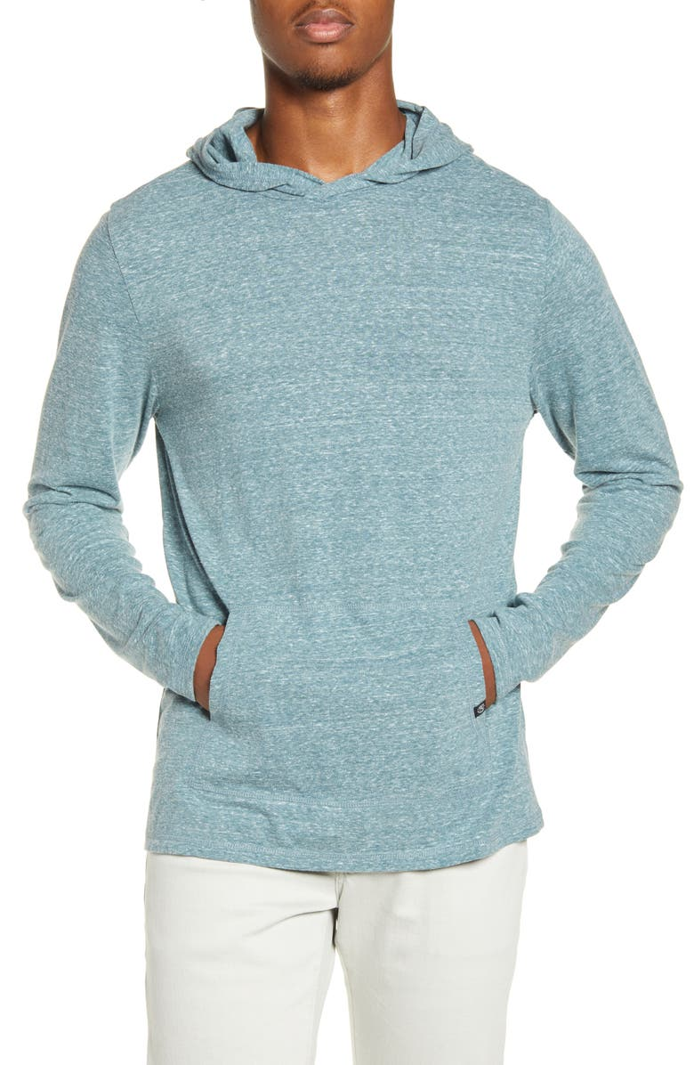 THREADS 4 THOUGHT Pullover Hoodie, Main, color, DARK SPRUCE