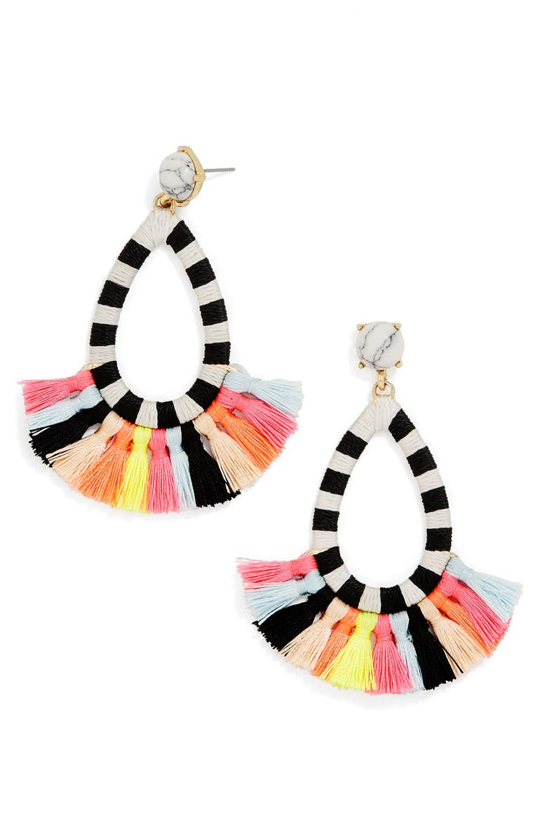 BAUBLEBAR Summer Drop Earrings, Main, color, 001