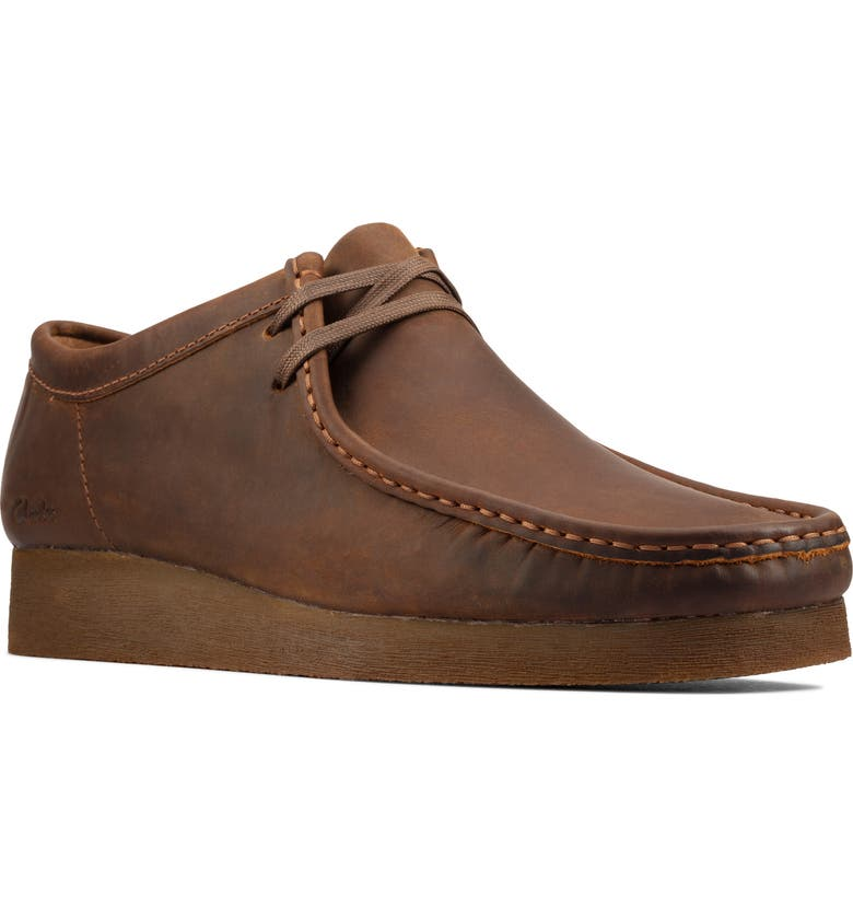 CLARKS<SUP>®</SUP> Wallabee 2 Chukka Boot, Main, color, BEESWAX LEATHER