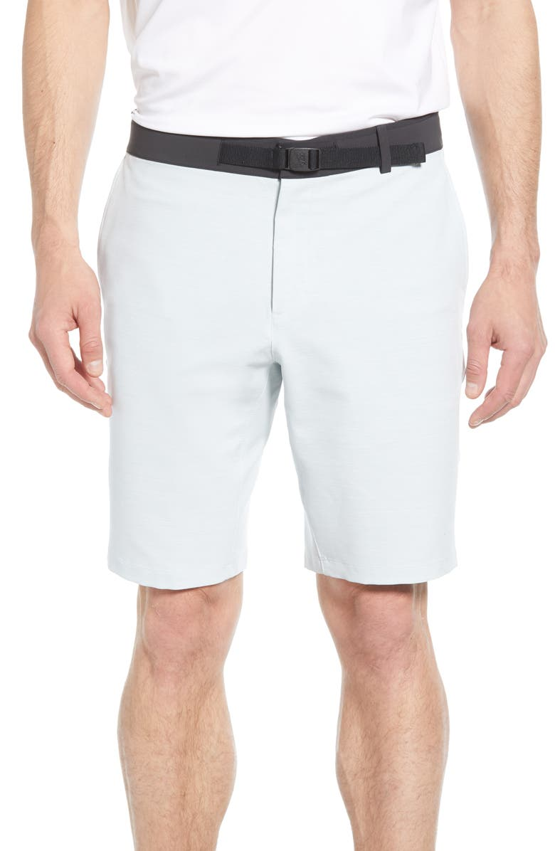 NIKE Golf Flex Shorts, Main, color, PURE PLATINUM/ WHITE/ WHITE