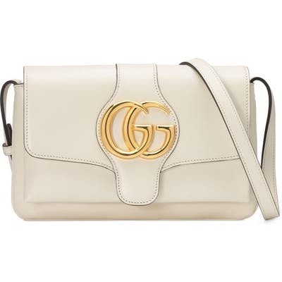 Gucci Small Convertible Shoulder Bag - White