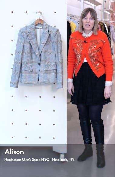 Danielle Plaid Dickey Jacket, sales video thumbnail