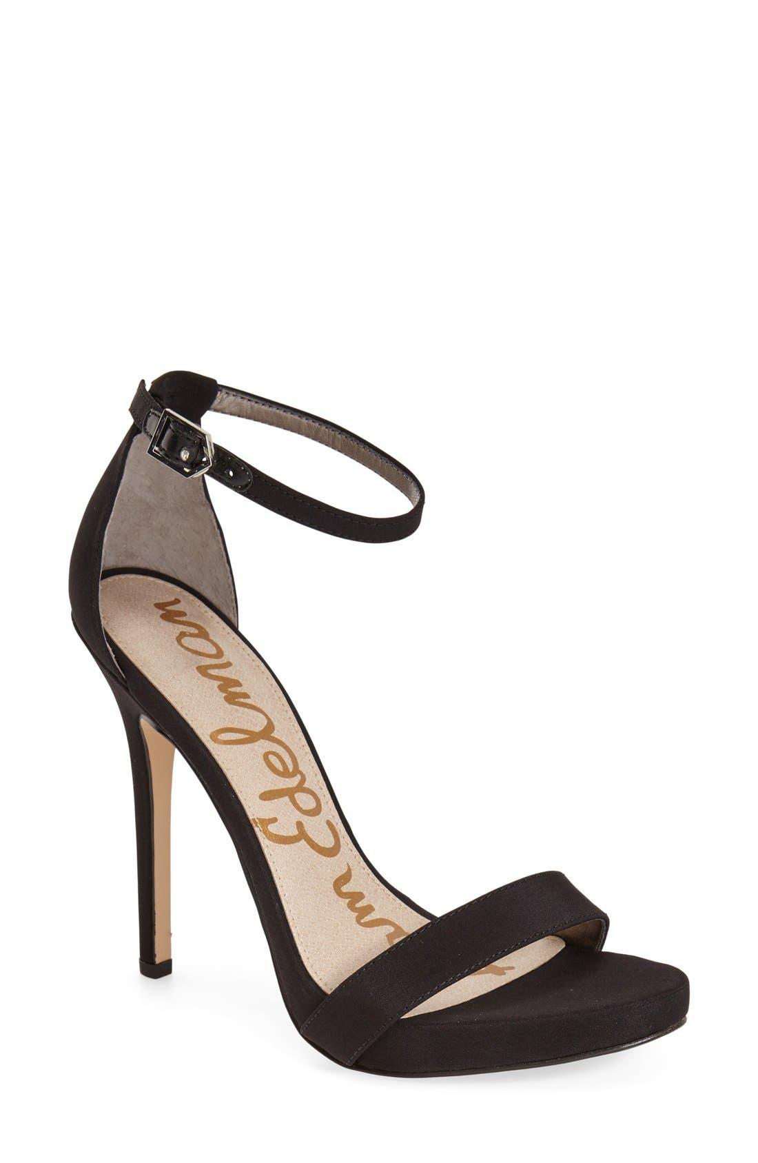 ,                             'Eleanor' Ankle Strap Sandal,                             Main thumbnail 31, color,                             006