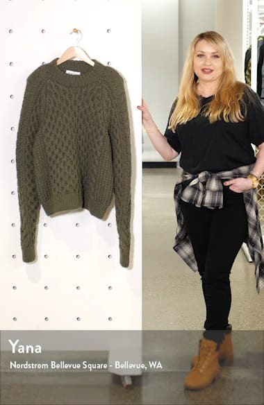 Orion Hand Knit Cashmere Sweater, sales video thumbnail