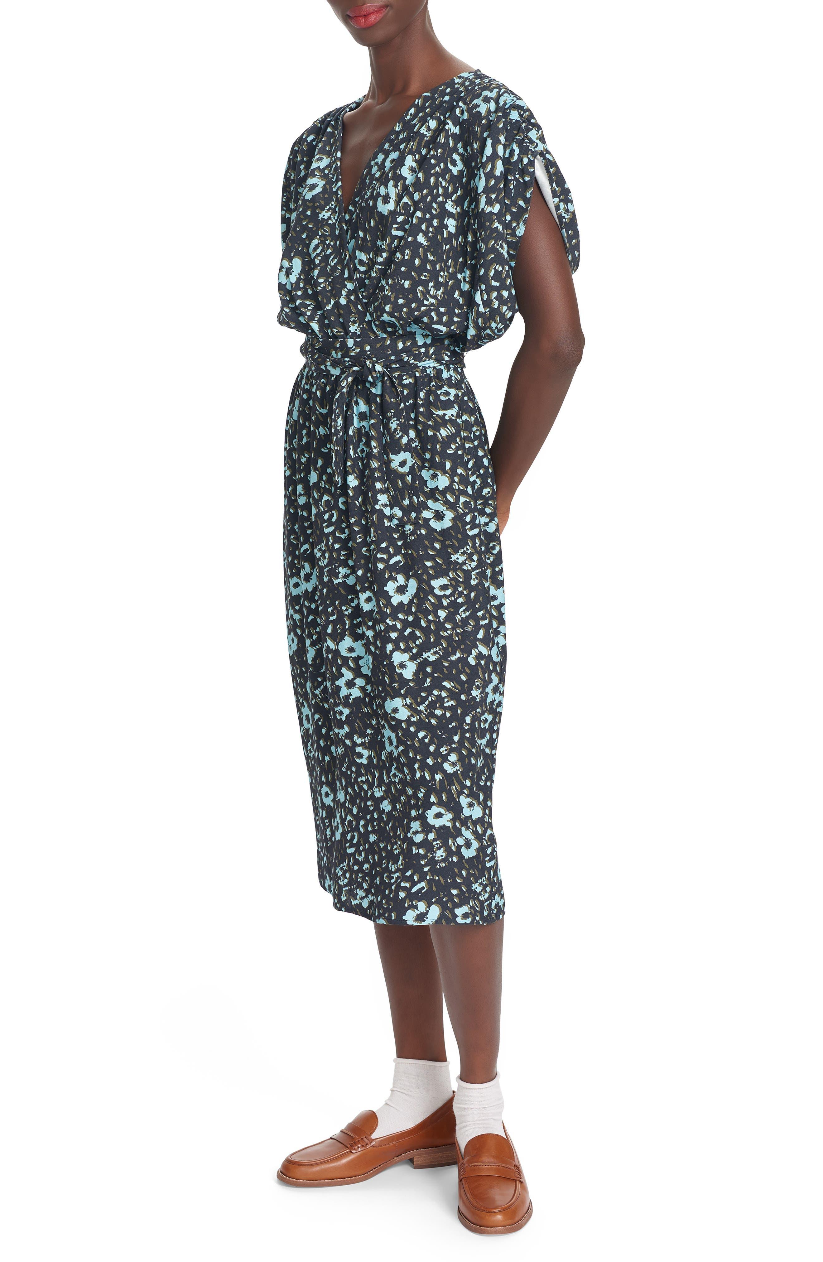 Lea Midi Wrap Dress