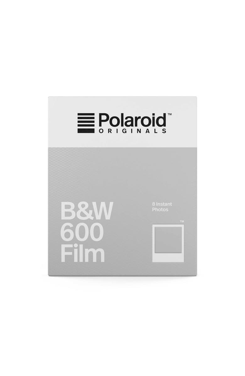 POLAROID ORIGINALS 600 Black & White Instant Film, Main, color, NONE