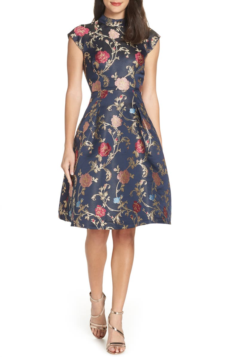 5724adf08010f Floral Print Party Dress