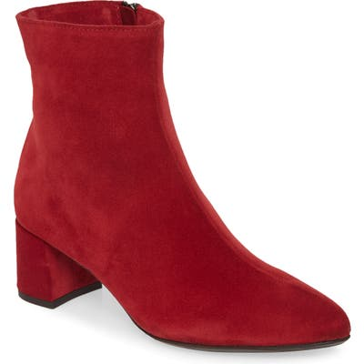 La Canadienne Duke Waterproof Bootie- Red