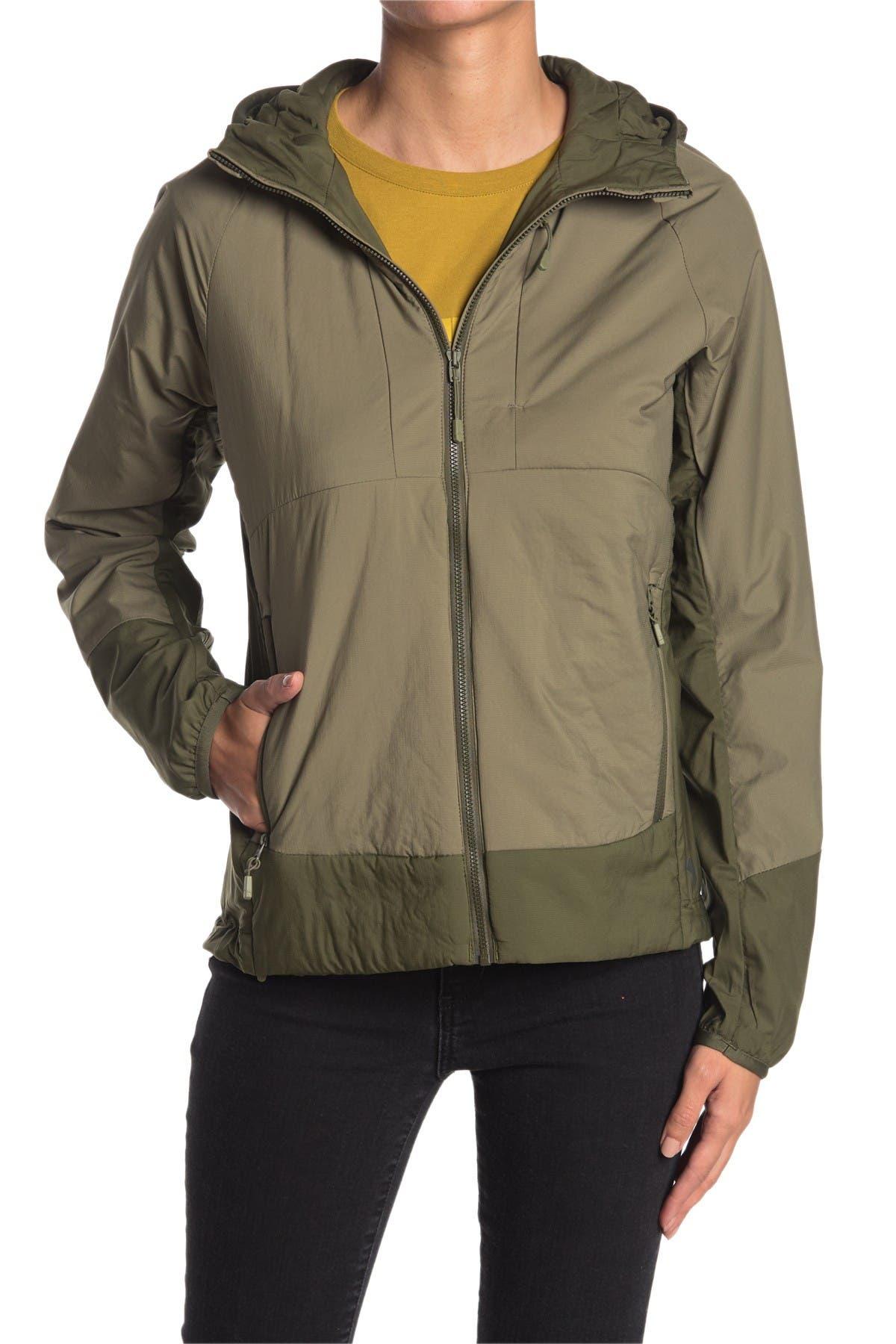 Image of MOUNTAIN HARDWEAR Kor Cirrus Hybrid Insulated Hooded Jacket