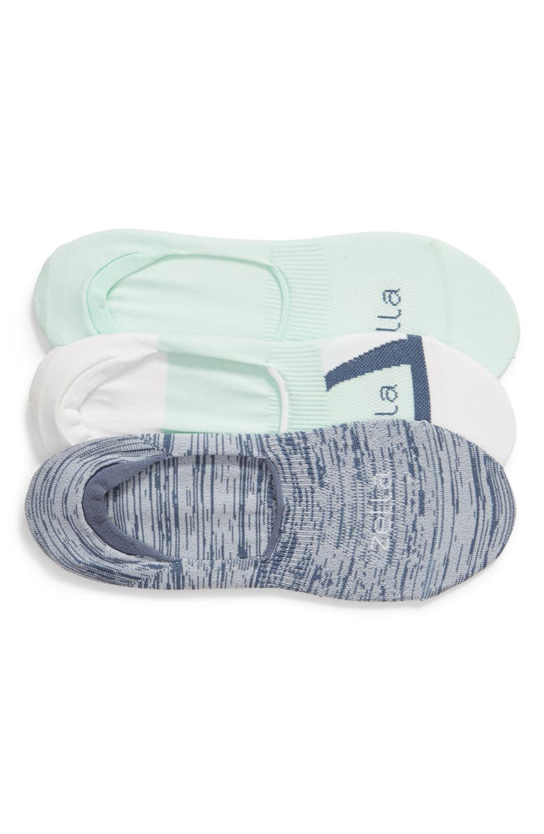 ZELLA 3-Pack No-Show Socks, Main, color, TEAL FAIR MULTI