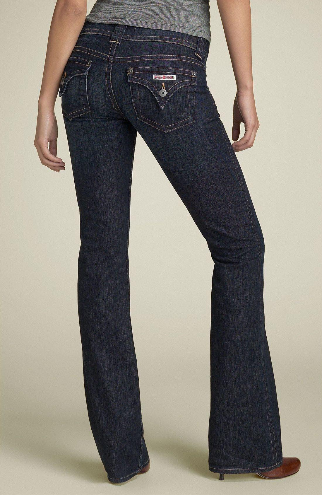 ,                             Signature Flap Pocket Bootcut Jeans,                             Alternate thumbnail 81, color,                             486